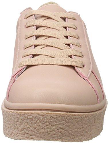 Bianco Damen Modische Sneaker Zum Schnüren 32-49386 Pink (Rose)