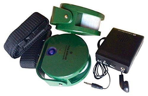 Berger + schröter - set da 2trasmettitore e allarme per animali selvatici, verde, m