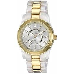 Radiant RA165202 - Reloj con correa de acero para mujer, color plateado/gris