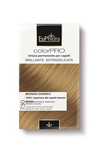 Euphidra Tinta Color Pro 730 Colorazione Permanente senza ammoniaca BIONDO DORATO