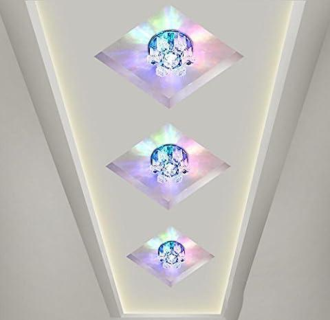 couloir Crystal aisle Hall d'entrée éclairage plafonnier conduit plafonds de balcon , 1