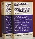 Klassiker des politischen Denkens. -