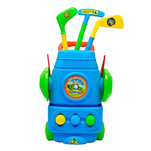 Wascoo Spielzeug Kleines Spielzeug Kindertagesgeschenk,Fun Young Golfer Sport Spielzeug Kit für Jungen und Mädchen fördert körperliche und geistige