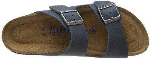 Birkenstock Arizona Herren Sandalen Blau - Bleu (Oiled Insigna Blue)