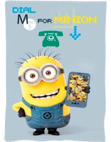 Manta polar Minions Dial M for Minion