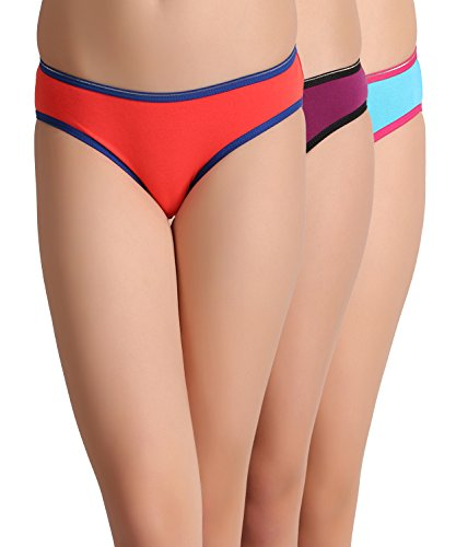 Leading Lady Pack of 3 pcs Colourful Bikini