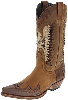 Sendra Boots 13171 - Botas de Piel para hombre Marrón marrón