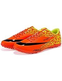 Antideslizantes Zapatos de fútbol de Entrenamiento al Aire Libre Broken Nail Transpirable fútbol Calzan Las Grapas…