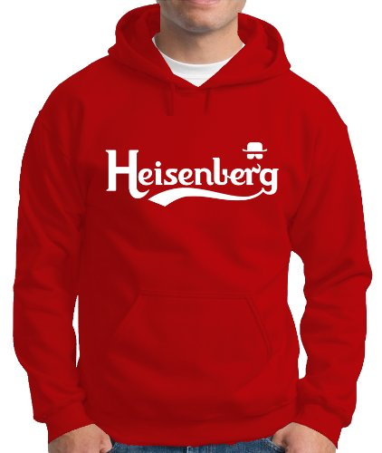 Touchlines Herren Kapuzenpullover Heisenberg Fly Sweatshirt, red, XXXL, B130513KS Preisvergleich
