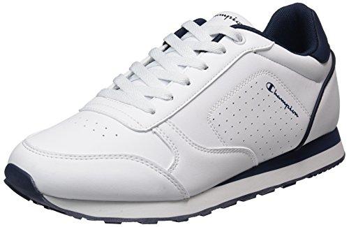Champion Low Cut Shoe C.j. Pu, Scarpe Running Uomo, Bianco (Wht), 43 EU