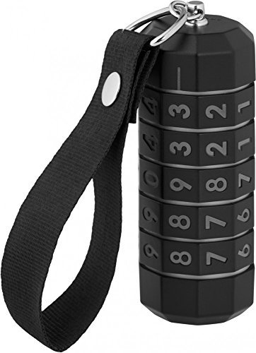 LokenToken dual USB flash drive, 16 Gb USB 3.0, Black