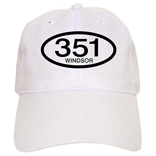 CafePress Vintage Ford 351 c.i.d. Windsor Cap - Baseball Cap with Adjustable Closure, Unique Printed Baseball Hat