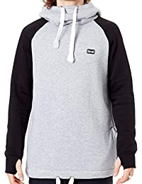 BRO Sudadera con Capucha de Snowboard Chill N Shred Classic Collection Gris -negr 92cc55b06ab