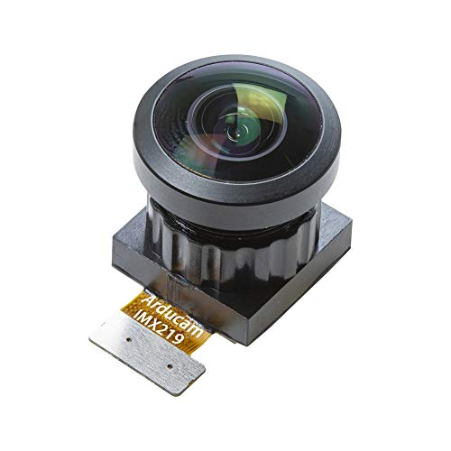 Arducam 8MP Wide Angle Drop-in Replacement for Raspberry Pi Camera Module  V2, IMX219 Sensor with M12 Mount Lens, 170 Degrees FoV Diagonal