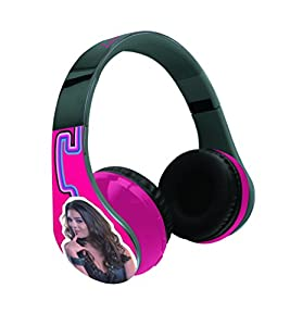 Chica Vampiro BTH, Disney-Cascos estéreo inalámbricos, Bluetooth 3.0, Almohadilla Confort, Diadema Ajustable (Lexibook BTHP400CV), Color Fucsia, 19.2x17.6x9.2 cm