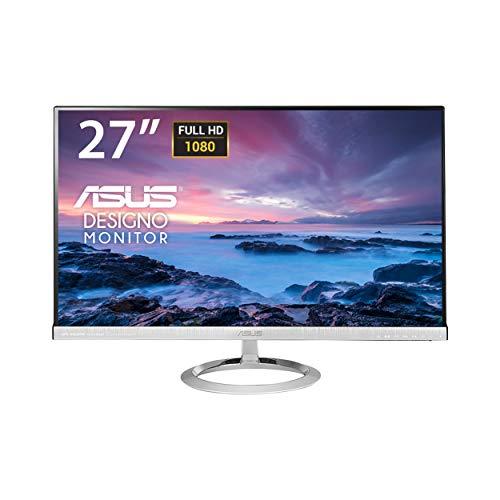 Asus MX279H 68,6 cm (27 Zoll) Monitor (Full HD, VGA, HDMI, 5ms Reaktionszeit) schwarz/silber Sub-amp-box