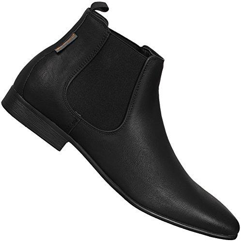 BEN SHERMAN FASHION CHELSEA BOOT Leder Herren Stiefel Neu (Schuhe Ben Sherman Herren)