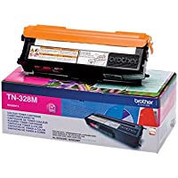 Brother Original Super-Jumbo-Tonerkassette TN-328M magenta (für Brother HL-4570CDW, HL-4570CDWT, DCP-9270CDN, MFC-9970CDW)