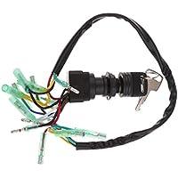 Perfeclan Interruptor de Encendido 703-82510-43-00 para Caja de Control de Motor fueraborda Yamaha + Llave