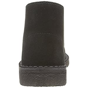 Clarks Originals Desert Boot - Botas Desert Boots para mujer, Black, 39.5