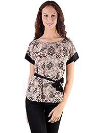 Gugg Women's Self Design TOP [GS16A15_BEIGE]