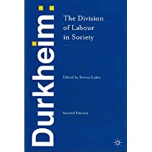 [(Durkheim: The Division of Labour in Society)] [By (author) Emile Durkheim ] published on (October, 2013)