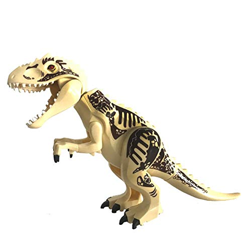 Sunflowerany Dinosaur Toys, Hot Large Indominus Rex Jurassic World Dinosaur Figure Blocks Raptor Toys Set CE