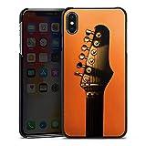 DeinDesign Apple iPhone XS Max Hülle Case Handyhülle Gitarre Saiten Instrument