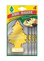 Idea Regalo - Arbre Magique Vaniglia 4 Pezzi Multipack