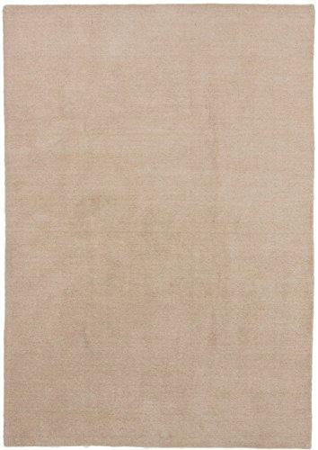Carpetfine: Alfombra Gabbeh Loom - 203x287 cm - Beige - Anudada a mano - India - Rectangular