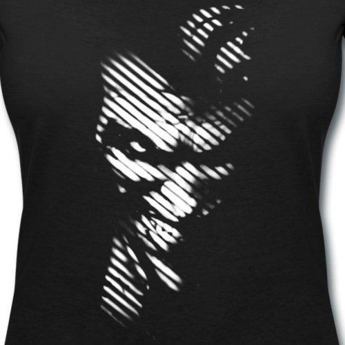 DC Comics Batman Joker Ombre T-shirt col V Femme de Spreadshirt® Noir