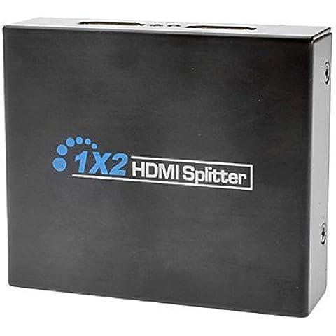 DNGY* HDMI v1.3 a 2x HDMI v1.3 Splitter Cavo HDMI ad alta velocità
