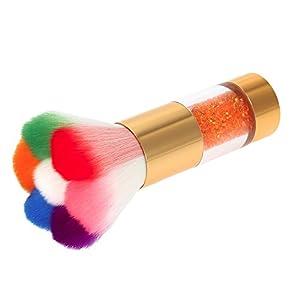 página web perfecta: Eaylis' Brush, cepillo colorido de nailon para polvo de uñas