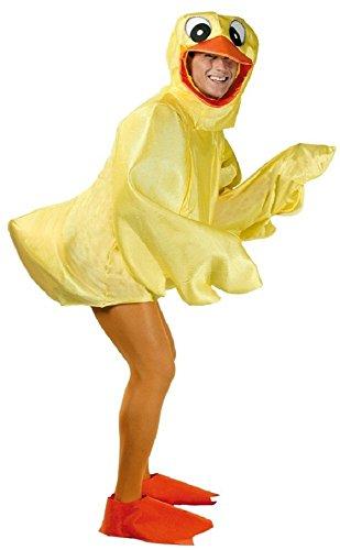 Fancy Me Erwachsene Gummiente Entlein Ostern Vogel Chick NEUHEIT Junggesellenabschied lustig Kostüm Kleid Outfit - Gelb, Gelb, Large (Chick Kleid Kostüm)