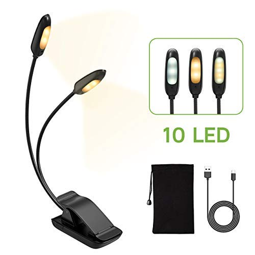 Luz Lectura con 10 LED