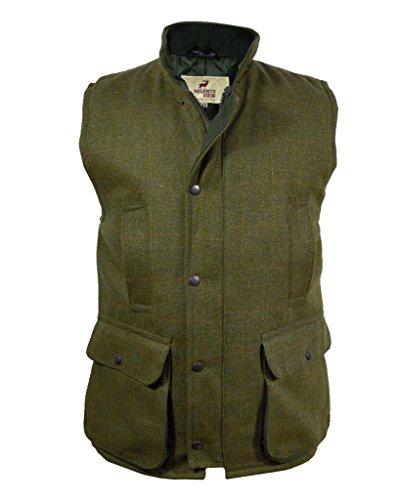 Regents View -  Gilet  - Uomo Dark Tweed