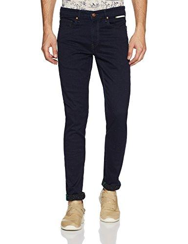 United Colors of Benetton Men's Slim Fit Jeans (18P4L23R8154I_Blue_32)