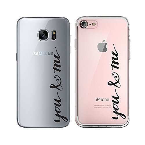 Blitz® TAKE IT EASY motifs housse de protection transparent TPE caricature bande iPhone Girl Power M2 iPhone 6 6s You & Me M9