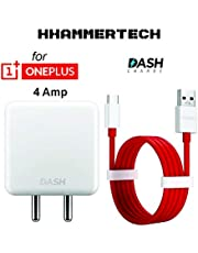 HHAMMERTECH Dash Charger DC0504B2GB with 1 m Dash Charging Cable for OnePlus 3/3T/5/5T/6/6T/7/7PRO