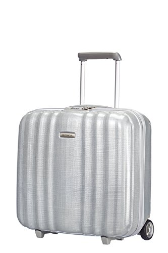 Preisvergleich Produktbild Samsonite LITE-CUBE ROLLING TOTE Laptop Rollkoffer, 28.5 Liter, Silber