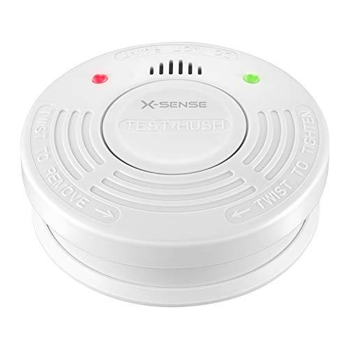 Rauchmelder, X-Sense SD10A DIN EN 14604 Brandmelder mit 10 Jahren Batterien und Tüv Zertifizierung für Feueralarm