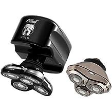 Skull Shaver Pitbull Gold Plus Afeitadora Eléctrica para Hombre para Barba  y Cabeza Afeitadora Rotativa Máquina afd8bf84ee9e
