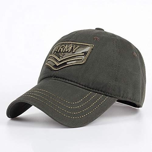 KAIMAO Baseballmütze Männer Camouflage Hut Mode Stickerei Druck Stick Cap Männer Und Frauen Nylon Schnalle Casual Hut Dri Armee Grün -