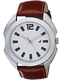 Fastrack Casual Analog Silver Dial Men's Watch -NK3117SL01