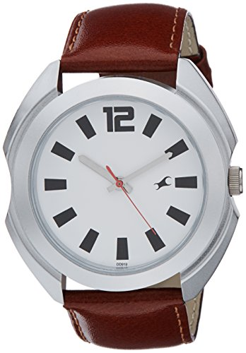 41HFuxbWmlL - 3117SL01 Fastrack Casual Silver Mens watch