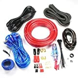 Installerparts 2000 W amplificateur de voiture 4 AWG Hookup Kit