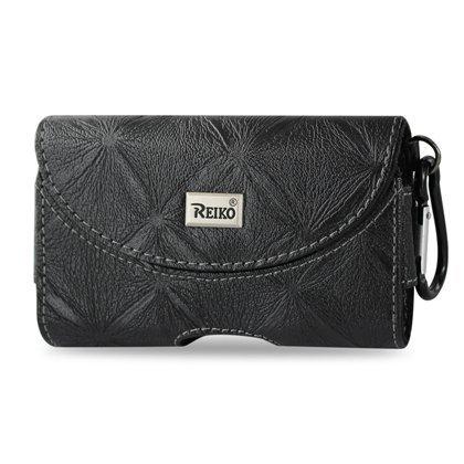 Reiko horizontal Pouch Hp146pour BlackBerry 8330-Noir