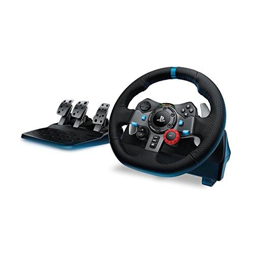 Logitech 941-000110 G29 Driving Force Race Wheel (Black) 41HFwIn650L