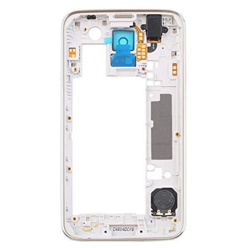 CHANNIKO-DE Replacement Middle Bezel Back Frame Housing Cover for Samsung Galaxy S5 i9600 G900F G900H Mobile Phone Parts and Accessories Bezel Frame Cover