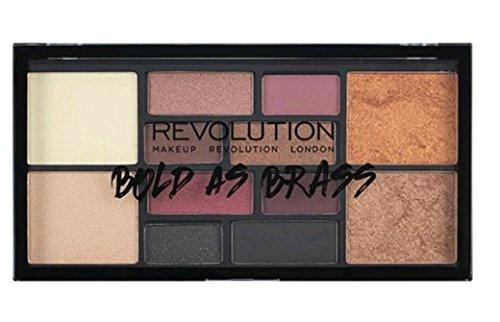 Maquillaje Revolution Bold As Brass Highlight sombras